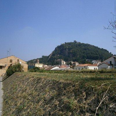 Centro storico di Monselice verso Via Moraro