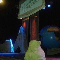 Cenário do palco