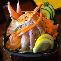 Large rolls & fresh fish
