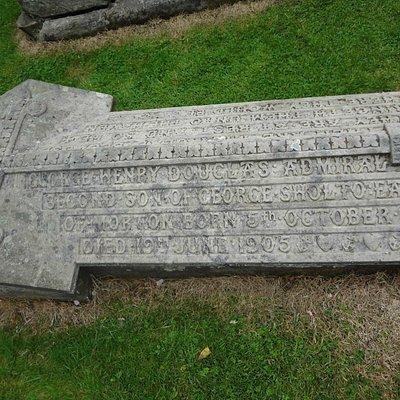 Admiral's grave