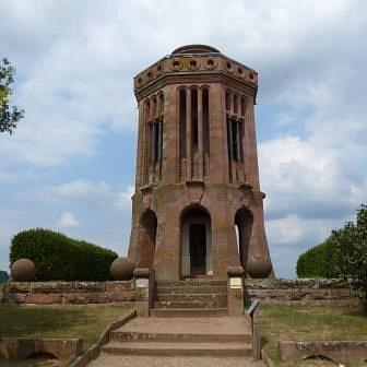Champ de bataille de Woerth, monument allemand.