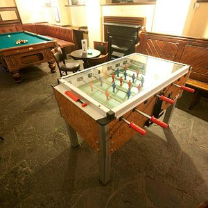 Table football in the Cellar