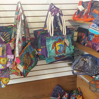 Local Art Including Stephanie Kiker Bags