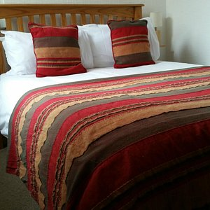 Double bed in Room 2