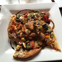 Roast Vegtable Flatbread Appetizer