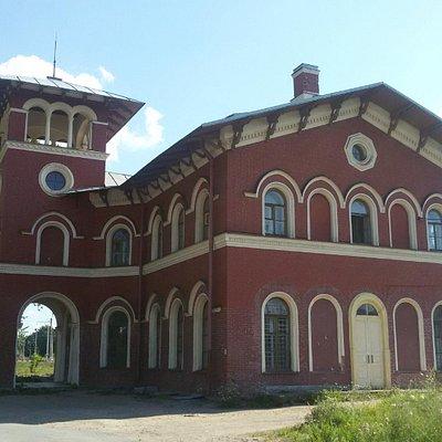 Вокзал Стрельны