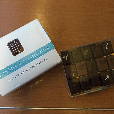 Exquisite precise chocolate.