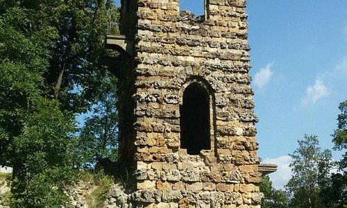 Башня-руина в Орловском парке