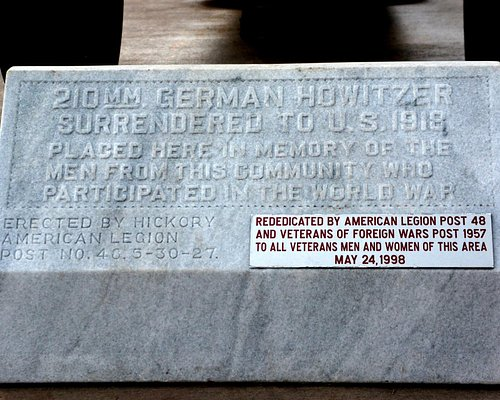 Dedication Plaque honoring those who served their country