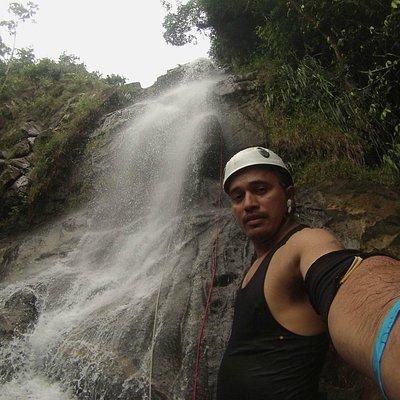 Belize Waterfalls Rappelling