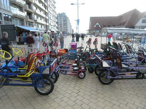 Lots to choose from, pedal, electric, etc.
