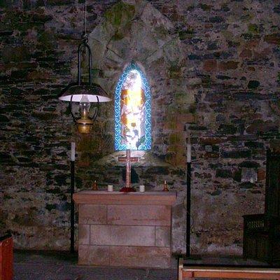 St Moluag's church, interior