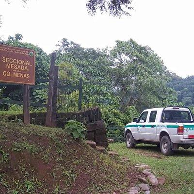 Camioneta del Guarda-Parques
