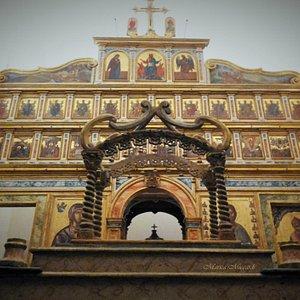 Chiesa dei Greci, baldacchino processionale ed Iconostasi
