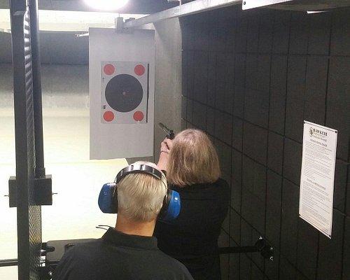 Target practice is a good idea.