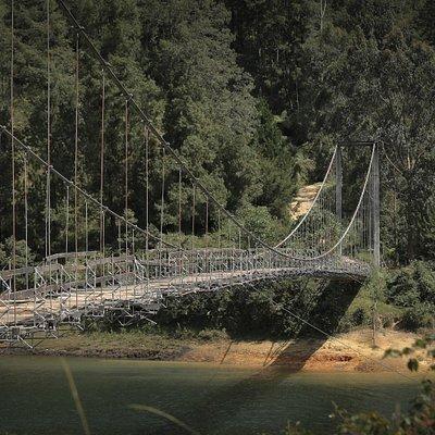 Visit to the hanging bridge