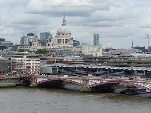 St Pauls from OXO tower