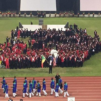 Stade de kintélé Brazzaville