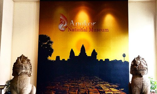 Inside the Angkor National Museum