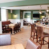 Half Moon Inn Newton on Derwent - restaurant and bar view