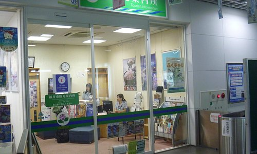 オフィスの入口(改札横)