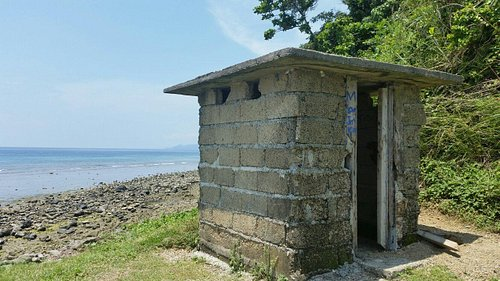 I have not found any old watch tower in the place... instead, i found a toilet!