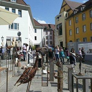 Handwerkermarkt auf dem Augustinerplatz