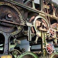 Alte Papiermaschine