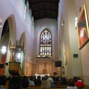 Interior de la Catedral St. Mary´s