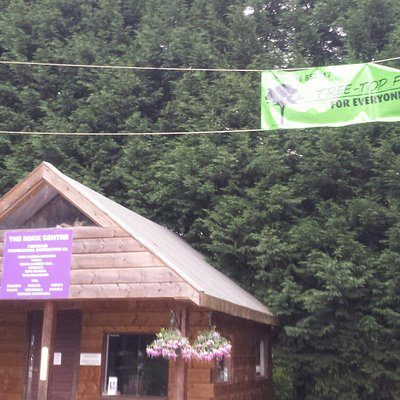 The Rock Treetops Adventure Centre at Finlake