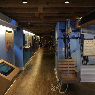 Maritime exhibit level
