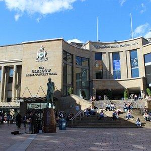 Buchanan Street entrance (at left), Buchanan Galleries, Glasgow, Aug 2015