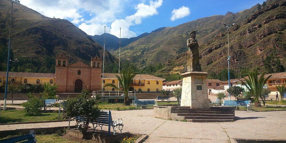 Plaza de Armas in Coya