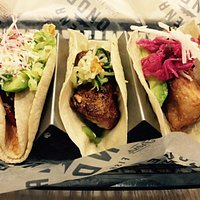 Great Fish Tacos, made fresh - delicious!