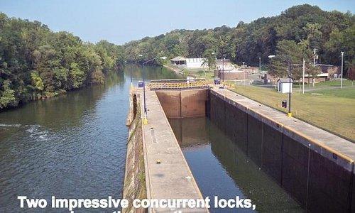 Locks in Seneca/Cayuga Canal
