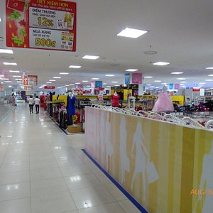 Outside Mall and shops inside.