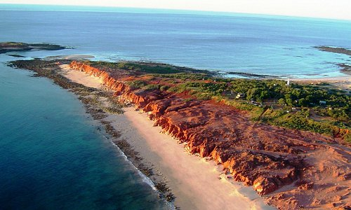 Bird's eye view of Cape Leveque