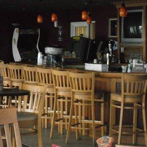 Sandtrap bar inside