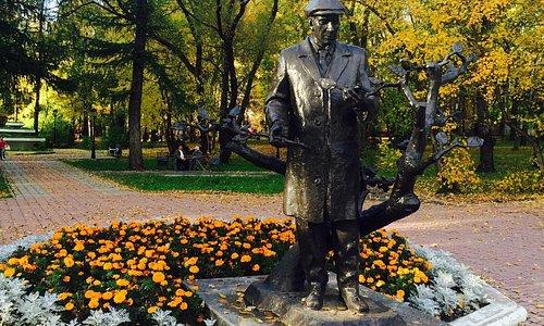 Памятник озеленителю Миндовскомк