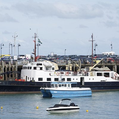 The Oldenburg in Ilfracombe Harbour