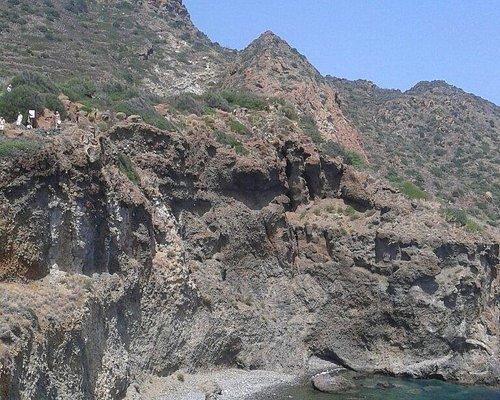 Sito dell' età del bronzo e panorama su Cala Junco