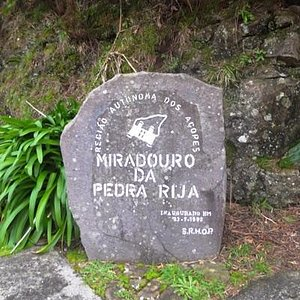 The name written on a rock
