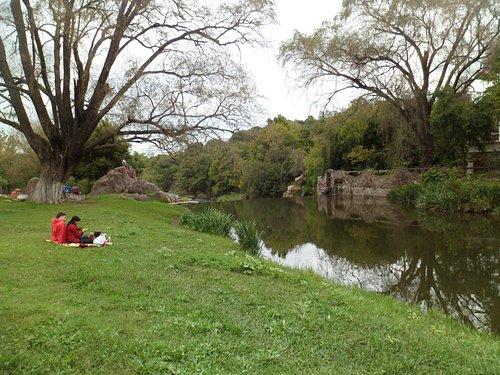 Picnic frente al río