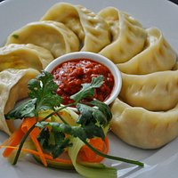 """""""Mo:Mo""""... New on menu.. Most popular & best Nepalese food.."""