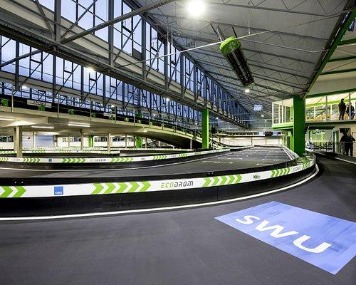 Ecodrom Neu-Ulm – die innovativste Indoor-Kartbahn Deutschlands.