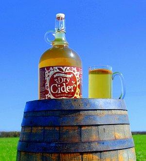Flagon of haywood Farm still cider