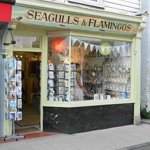 Seagulls & Flamingos, Whitstable
