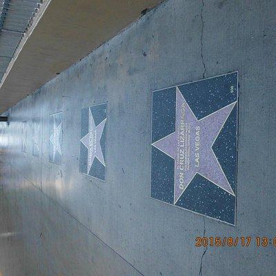 Calçada das estrelas em Las Vegas