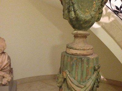 Sculpture in Basement
