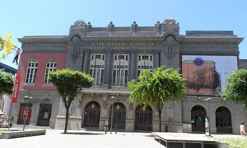 Theatro Circo em Braga, Portugal       Foto :  Cida Werneck
